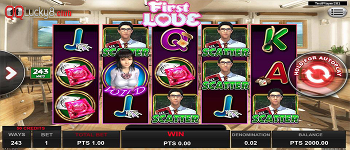 First Love spadegaming by mpo500